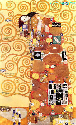 $ CDN76.29 • Buy D-toys Klimt Hugged Oil Painting 1000 Piece Adult Stress Relief Puzzles Toys New