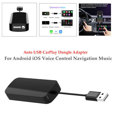 $39.77 • Buy USB Dongle Carplay Navigation Music MP5 Head Unit For IOS Android Voice Control