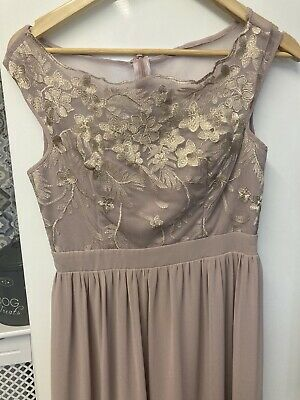 Little Mistress Bridesmaid Or Party Dress Size 10 • 1.40£