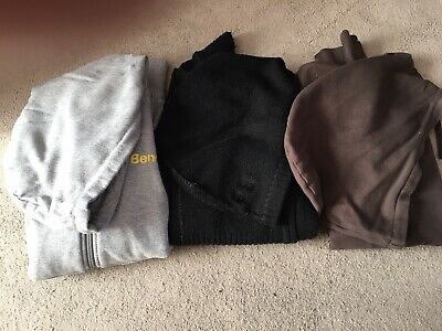 Womens Bench Reversible Zip Hoodie Size M With Thumb Holes(immaculate Condition) • 20£