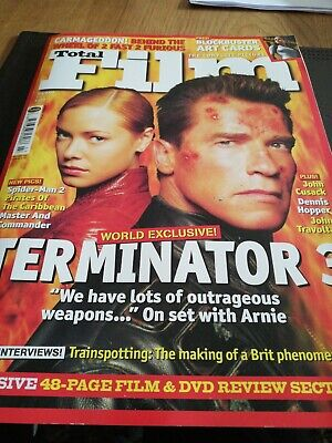 Total Film Magazine Issue 78 July 2003 Terminator 3 Arnold Schwarzenegger • 0.99£