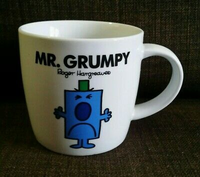 Mr Grumpy Mug 2013 Thoip Roger Hargreaves - Unused Only Ever Displayed. • 5.50£