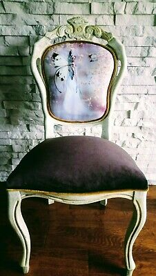 Shabby Chic French Style Chair Carver Chair • 115£