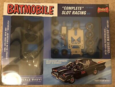 Polar Lights Batmobile (1960s TV Version) Kit 1/32 Scale For Scalextric Layouts • 50£