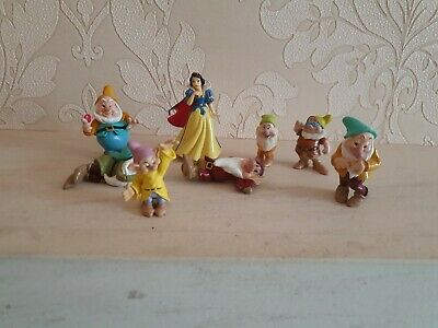 Disney Snow White And The Seven Dwarfs Figures • 4.99£