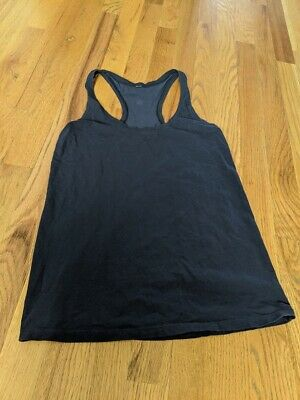 $ CDN30.62 • Buy Lululemon Love Tank, Pima Cotton, Navy, Size 4