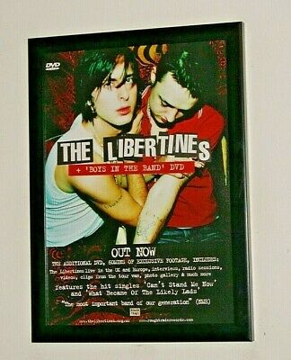 £12.99 • Buy THE LIBERTINES Framed A4 2004 `boys In The Band` DVD Band Original Art Poster
