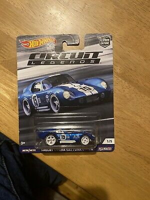 Shelby Cobra Daytona Coupe Circuit Legends 1/5 Car Culture 1:64 Hot Wheels Flc28 • 14.99£