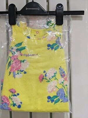 Joules Baby Girls Bunty Woven Dress  - Yellow Floral - 3M-6M • 4.90£