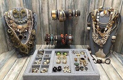 $ CDN17.52 • Buy Huge Vintage To Now Jewelry Lot - Estate Find - All Wearable Pieces - 3 Lbs +