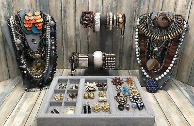 $ CDN20.11 • Buy Huge Vintage To Now Jewelry Lot - Estate Find - All Wearable Pieces - 3 Lbs +