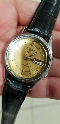 $ CDN20.16 • Buy Vintage Seiko 5 Automatic 7009 Mens 17J Watch Original Dial Case Crown Movement