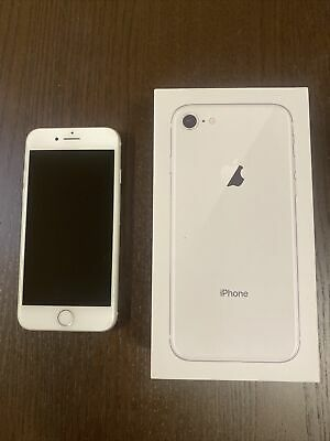 AU182.50 • Buy Apple IPhone 8  - 64GB - White (Unlocked) Excellent Condition