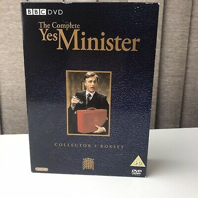 The Complete Yes Minister DVD Collector's Box Set Eddington Hawthorne Fowlds • 4.99£
