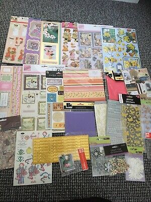 Lockdown Craft Bundle Make Your Own Card Christmas & Other Embellishments NEW • 3.20£