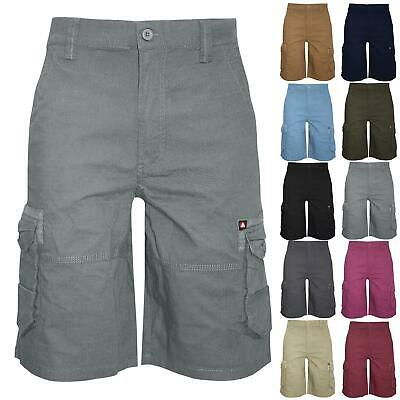 Airwalk Mens Shorts Knee Length Cargo Combat Waist Zip Up Single Pocket Summer • 6.05£