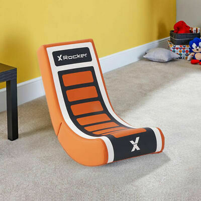 AU943.59 • Buy LIMITED X Rocker Video Rocker Floor Gaming Extra Comfort Foldable Chair For Kids