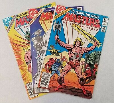 $39.99 • Buy Masters Of The Universe DC Mini-Series #1, 2, & 3. 75¢ Canadian Price Variants.