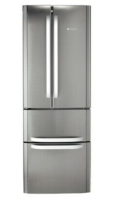 Hotpoint Quadrio American Style 60/40 Fridge Freezer, 70cm Wide, 402L Capacity • 164£