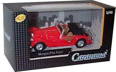 Morgan Plus Eight In Red 1:43 Scale Model From Cararama • 12£