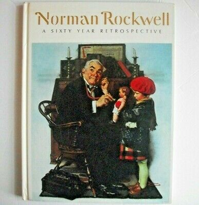 $ CDN15.51 • Buy Norman Rockwell Art Book Illustrated A 60 Year Retrospective Abrams 1972