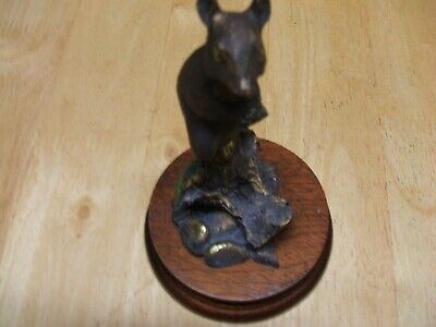 Border Fine Arts Bronze Mouse On Apple • 40£