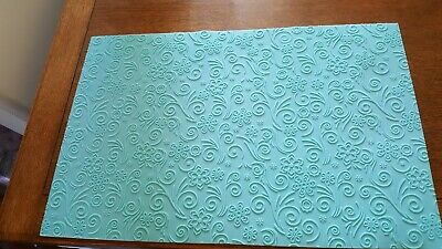 Cake Icing Imprint Mat Used In Excellent Condition Size Is H57 X 37.5cm • 0.99£