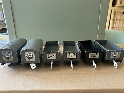 Trackmaster Thomas The Tank Engine Troublesome Trucks X 6 • 10£