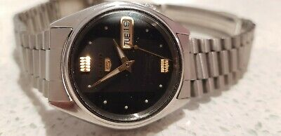 $ CDN7.20 • Buy Vintage Seiko 5 Auto Mens 21J Watch Original Dial Crown Case Band Movement Excel