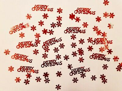 £1.79 • Buy Merry Christmas Foil Table Confetti - 5 Colours Available - Xmas At Home 2020