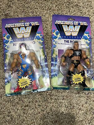 $19.99 • Buy Masters Of The WWE Universe Lot Of 2 The Rock And Rey Mysterio Walmart Exclusiv