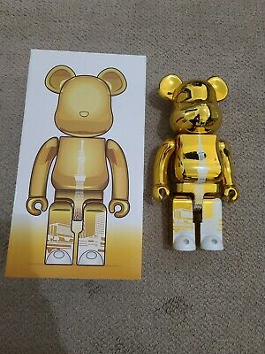 $150 • Buy Medicom Be@rbrick Tokyo Skytree Town 400% Sky Tree Tower Metallic Gold Bearbrick