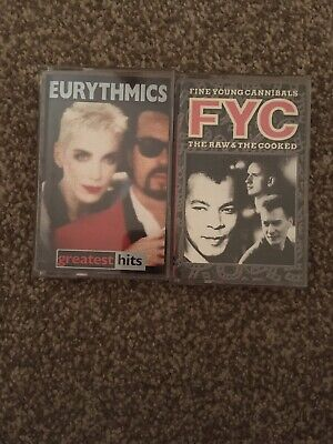 EURYTHMICS And Fine Young Cannibals   Audio Cassettes • 2.50£