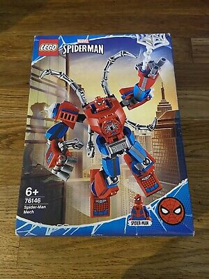 BRAND NEW IN BOX LEGO MARVEL SPIDERMAN 76146 Christmas Fab Look ❤️🖤 • 8.50£