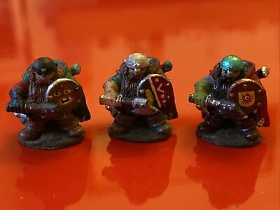 Citadel Regiments Of Reknown Bugmans Dwarf Rangers Trooper 1984 Pre Slotta X 3 • 12.99£