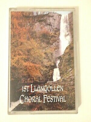 1st Llangollen Choral Festival Cassette Tape Black Mountain Records • 4.99£