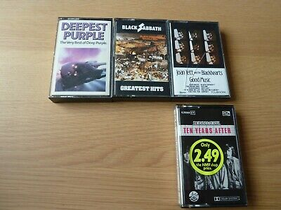 Collection Of Heavy Metal/Rock Music Cassettes • 10£