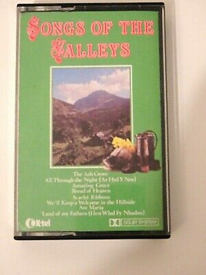 Songs Of The Valleys By London Welsh Male Voice Choir Cassette Tape 1981 K-Tel • 4.99£