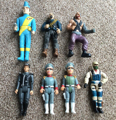Vintage Stingray / Thunderbird & Lanard Figures • 3.99£