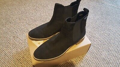 Superdry Black Womens Millie-Lou Suede Chelsea Ankle Boots  • 8.50£