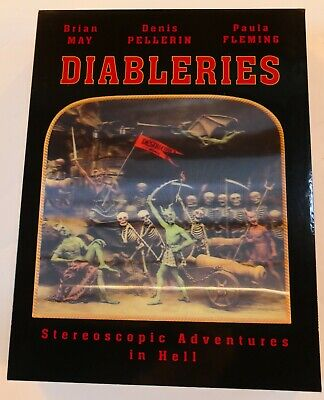 Diableries (autographed By Brian May) With Stereoscopic Viewer • 19£