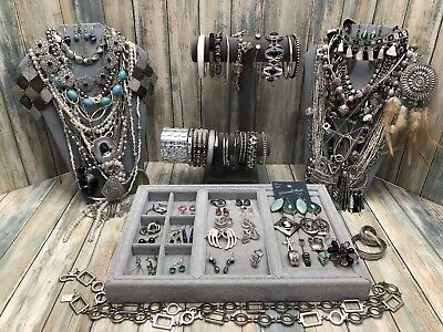 $ CDN30.49 • Buy Huge Vintage To Now Jewelry Lot - Estate Find - All Wearable Pieces - 3 Lbs +
