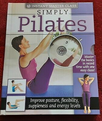 Instant Master Class Simply Pilates Book And DVD (PAL) By Hinkler Books Pty Ltd • 4£