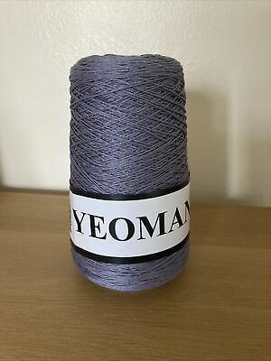 Yeoman Yarn Cannele 4ply Corded Mercerised Cotton Colour Is Ardoise • 7£