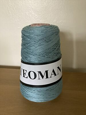 Yeoman Yarn Cannele 4ply Corded Mercerised Cotton Colour Lagoon • 7£