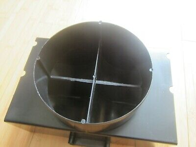 Extractor Fan Ducting Round To Rectangular Adaptor 6 Inch 152mm • 2£