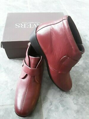Lovely Pair Of Ladies Size 6 Pavers Burgandy Ankle Boots BNWT  • 9.50£