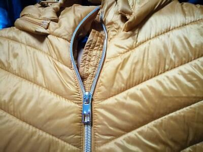 F & F Quilted Coat Mustard Ochre Yellow Size 12 Great Condition Worn Once • 9£