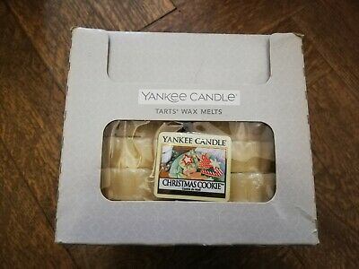 YANKEE CANDLE New Box Of 24 Wax Tart Melts (CHRISTMAS COOKIE)  • 24.95£