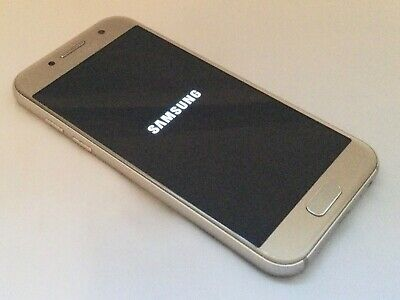 GOLD SAMSUNG GALAXY A3 SM-A320FL UNLOCKED ANDROID MOBILE SMART PHONE 99p AUCTION • 17.50£